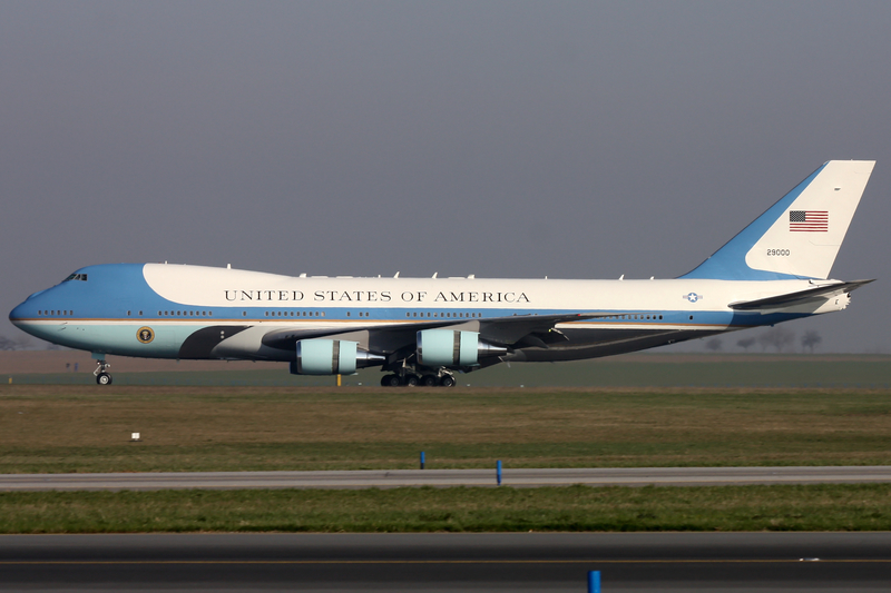 Air Force One 747